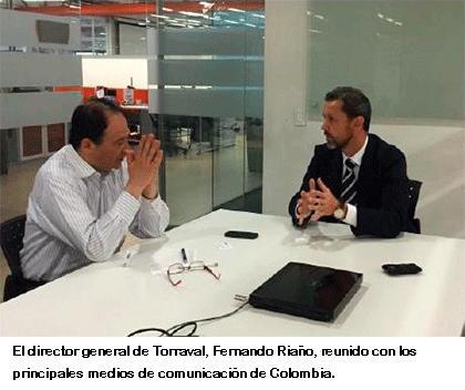 Fernando Riano medios Columbia