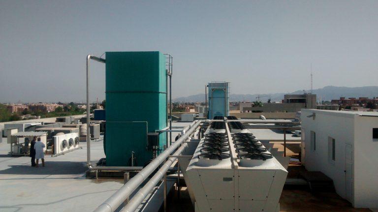 Torres de refrigeración evaporativas