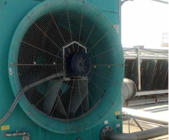 Torre de refrigeración evaporativa