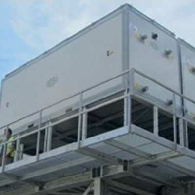 Evaporative condensers for brewery in Cuba