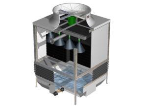 Torres de refrigeración de circuito abierto TORRAVAL