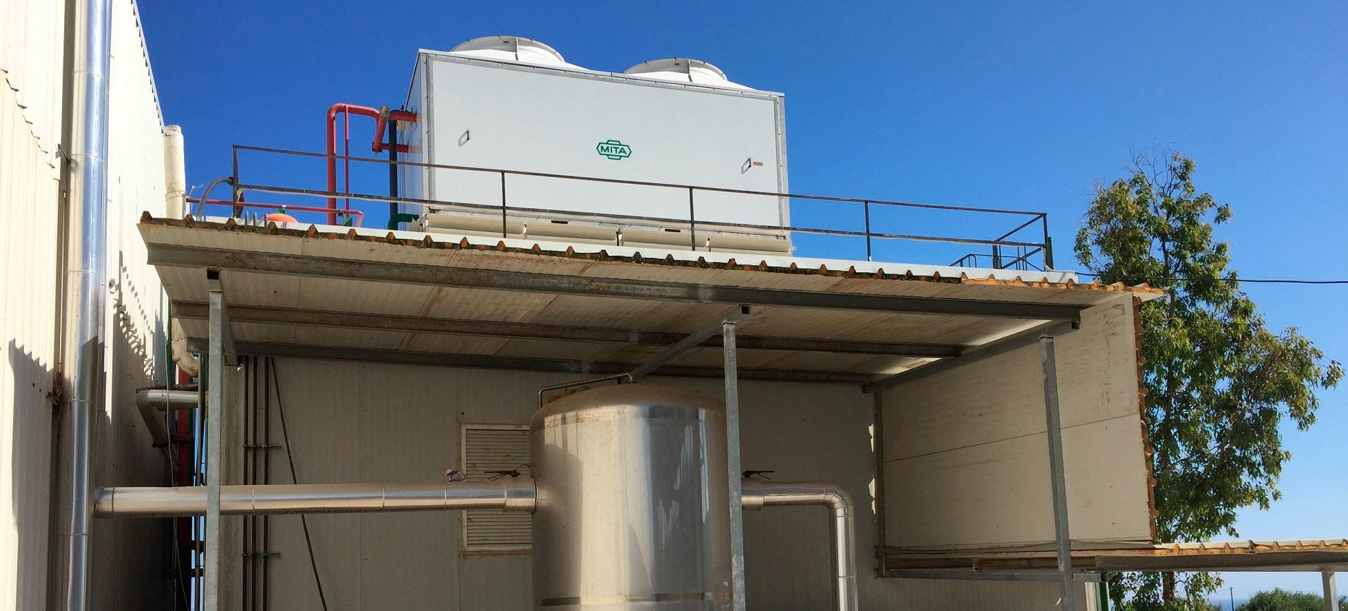 Condensador evaporativo MITA Group