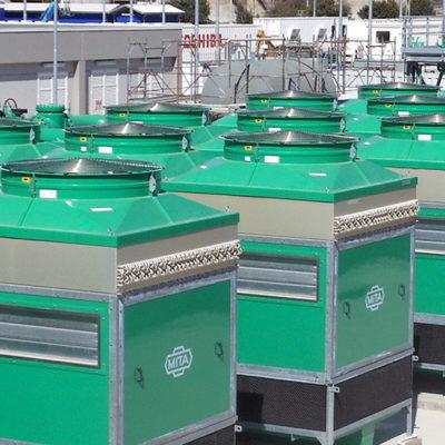 Refrigeradores adiabáticos PAD para Ansaldo Energia (Utilities)