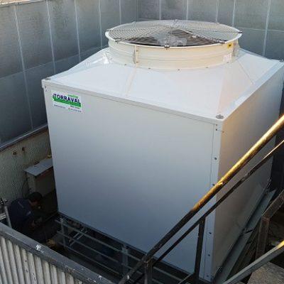 Renovación del sistema de refrigeración de un hotel urbano