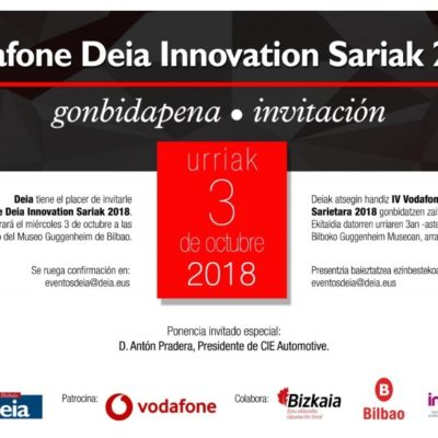 TORRAVAL nominated for the Vodafone Deia Innovation Sariak 2018 Awards