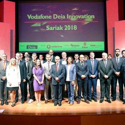 TORRAVAL winner at the VODAFONE DEIA INNOVATION SARIAK 2018 awards