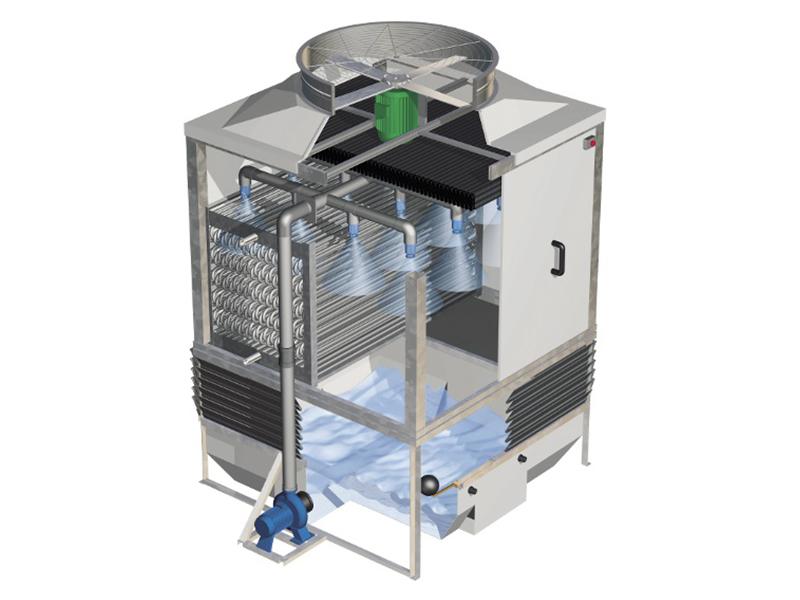 Torre de refrigeración TORRAVAL serie MCC