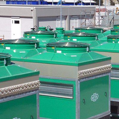 PAD adiabatic coolers for Ansaldo Energia (Utilities)