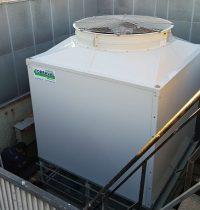 Refrigeration system of a urban hotel