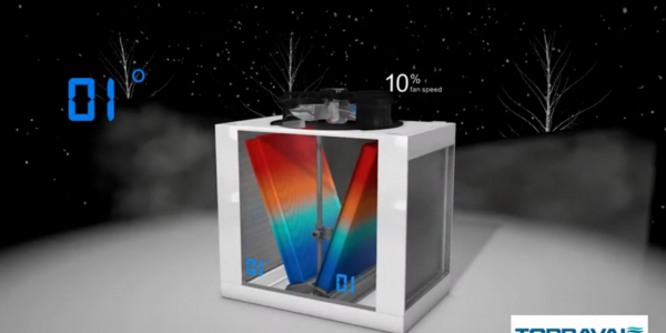 Cómo funciona el refrigerador y condensador adiabático serie PAD-V: video
