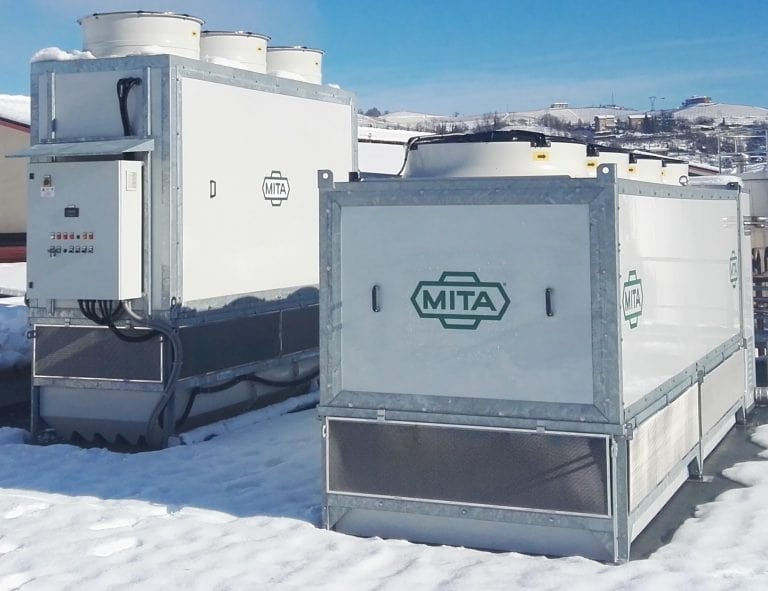 Evaporative-Condenser-Adiabatic-Gas-Cooler-for-a-Langhe-Dairy_Food-Industry