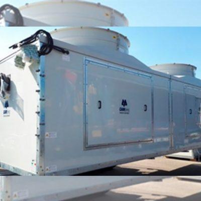 Torres de refrigeración para industria papelera