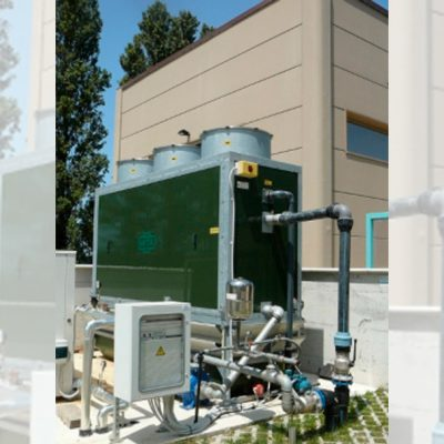 Torre de refrigeración de circuito cerrado para laboratorio
