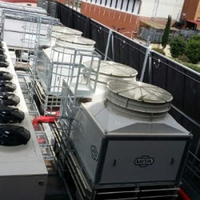 Cooling towers for RAI