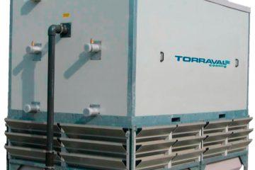 fiberglass / evaporative condenser