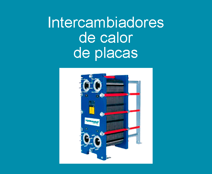 Intercambiadores de calor de placas / Intercambiador de calor de placas