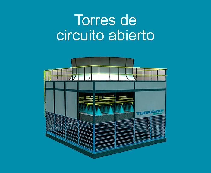 Torres de refrigeración de circuito abierto / torre de refrigeración de circuito abierto