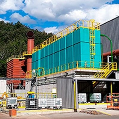 Induction furnace cooling for Winoa