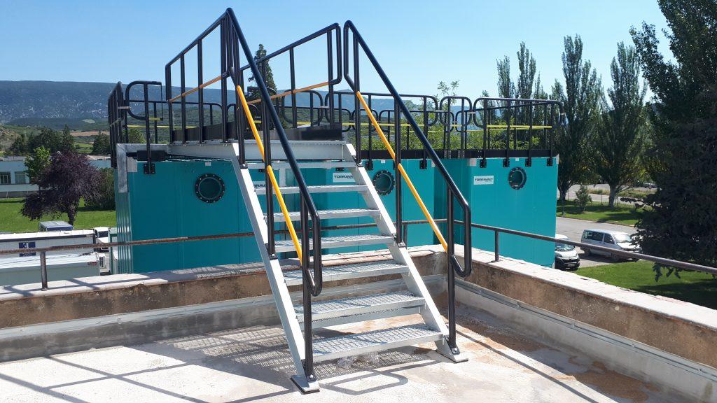 Escaleras para torres de refrigeración TORRAVAL