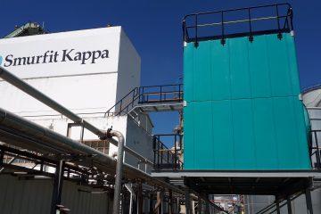 Torres de refrigeración de circuito abierto y tiro forzado TORRAVAL en Smurfit Kappa