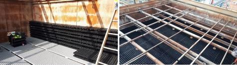 renovación torre de refrigeración - Vigas de soporte 4