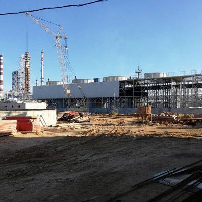 Torres de refrigeración para la refinería de Mozyr