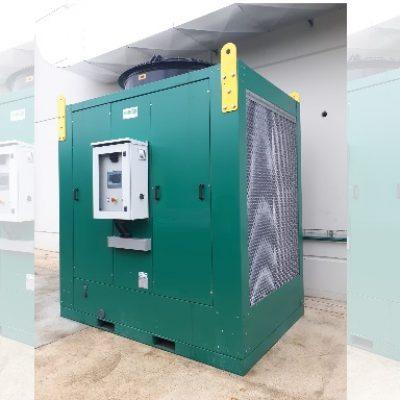 Adiabatic cooling – working savings