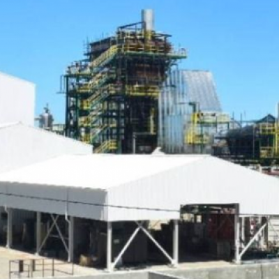 Cooling towers in biomass plants