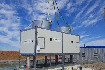 torres enfriamiento sistema de generación de energía de respaldo
