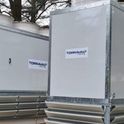 Torres de refrigeración con chillers en climatización HVAC