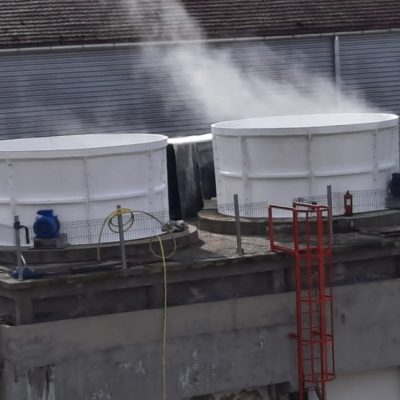 Cooling towers corrosion